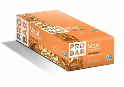 ProBar  Meal   Almond Crunch Perspective: front