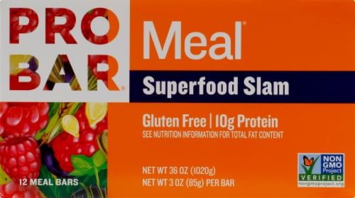 ProBar Superfood Slam Meal Bars Perspective: front
