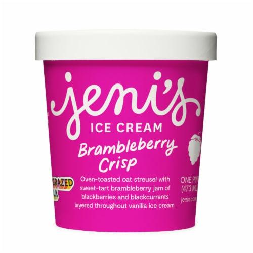 Jeni's Brambleberry Crisp Ice Cream Perspective: front
