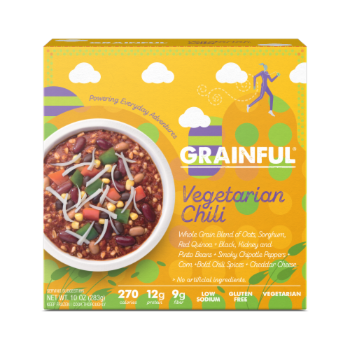 BeetNPath Grainful Vegetarian Chili Perspective: front