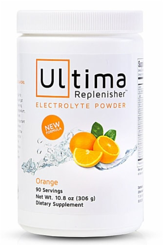 Ultima Health Products  Ultima Replenisher™ Electrolyte Powder   Orange Perspective: front