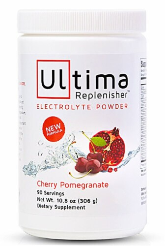 Ultima Health Products  Ultima Replenisher™ Electrolyte Powder   Cherry Pomegranate Perspective: front