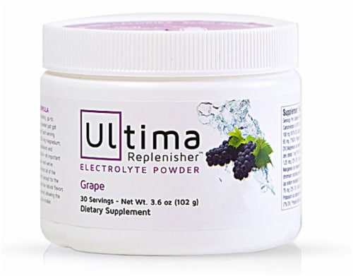 Ultima Health Products  Ultima Replenisher™ Electrolyte Powder   Grape Perspective: front