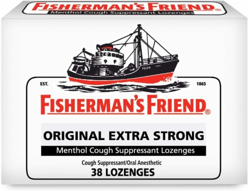 Fisherman's Friend Original Extra Strong Lozenges Perspective: front