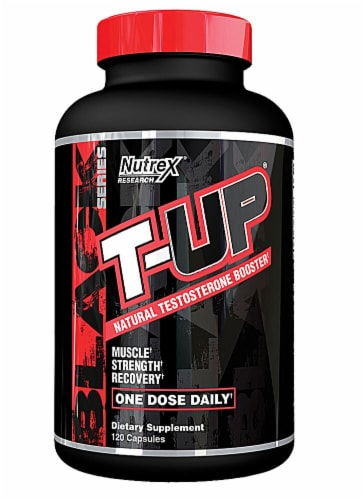Nutrex Research  T-Up® Mega Testosterone Booster Perspective: front