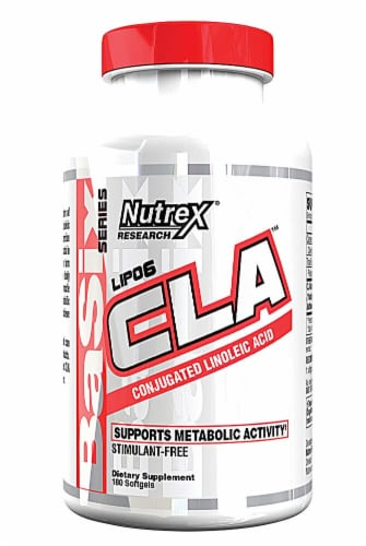 Nutrex Research  Lipo-6 CLA Perspective: front