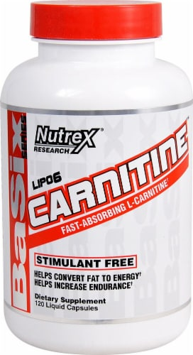 Nutrex Research  Lipo-6 Carnitine Perspective: front