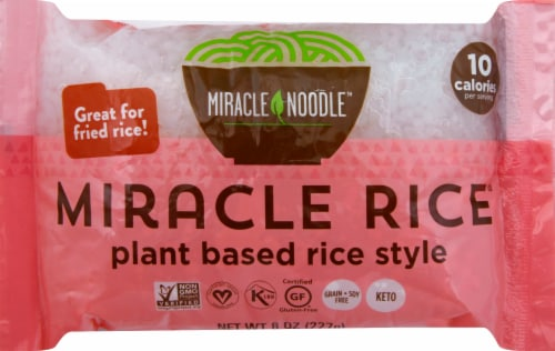 Miracle Noodle Rice Perspective: front