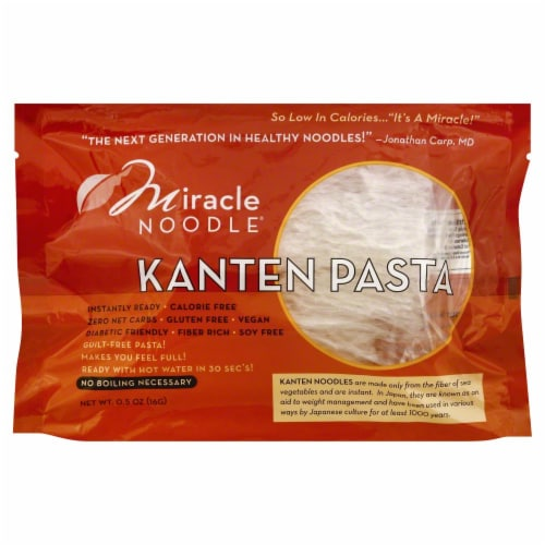 Miracle Noodle Kanten Pasta Perspective: front