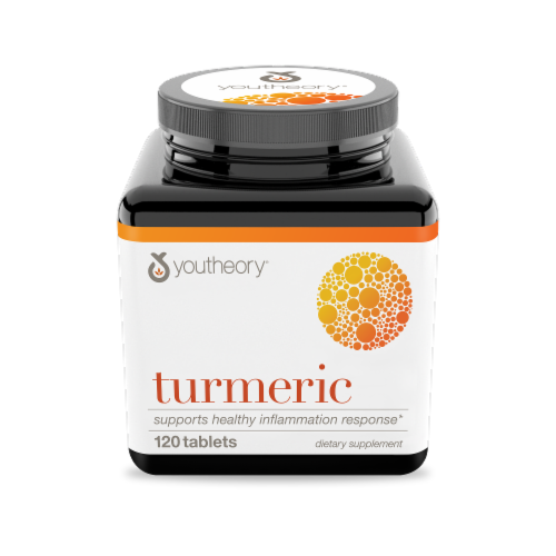 YouTheory Turmeric Advanced Supplement Perspective: front