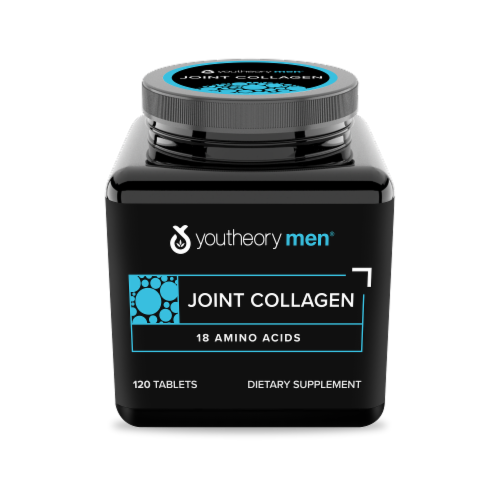 YouTheory Mens Joint Collagen Advanced Formula Caplets Perspective: front