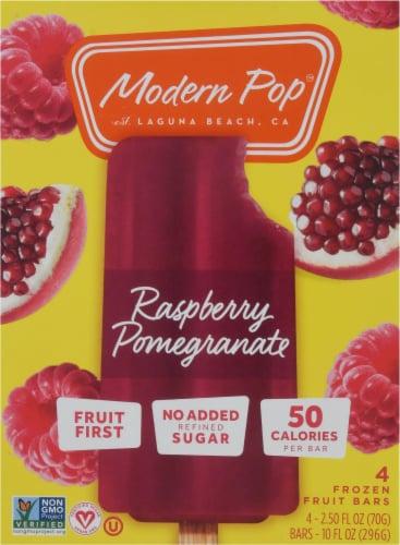 Modern Pop Raspberry Pomegranate Fruit Bars Perspective: front