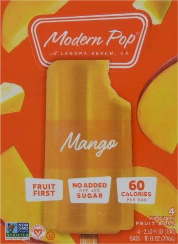 Modern Pop Mango Fruit Bars Perspective: front