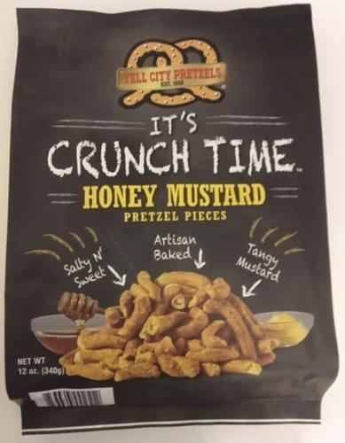 Tell City Honey Mustard Pretzel Pieces Perspective: front