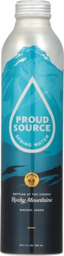 Proud Source Spring Water Perspective: front