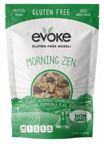 Evoke Morning Zen Gluten Free Muesli Perspective: front