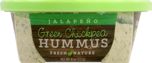 Fresh Nature Green Chickpea Jalapeno Hummus Perspective: front