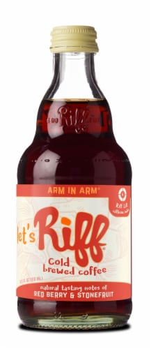 Riff Arm in Arm Cold Brewed Coffee Perspective: front
