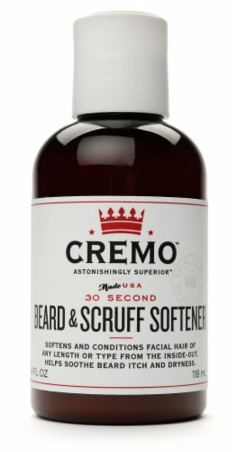 Cremo Beard & Scruff Softener Perspective: front