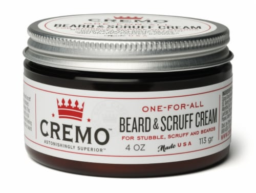 Cremo Beard & Scruff Cream Perspective: front