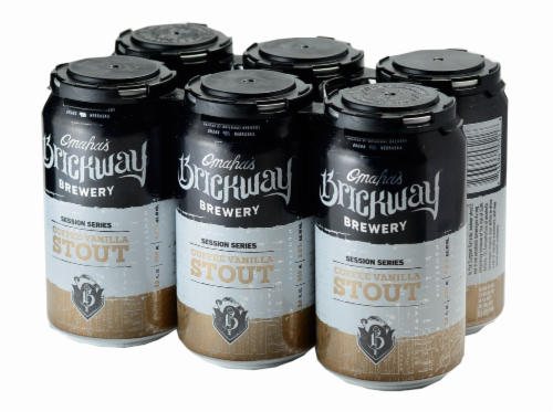 Brickway Brewery Coffee Vanilla Stout Perspective: front
