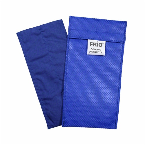Frio Duo-Blue Insulin Cooling Case Perspective: front