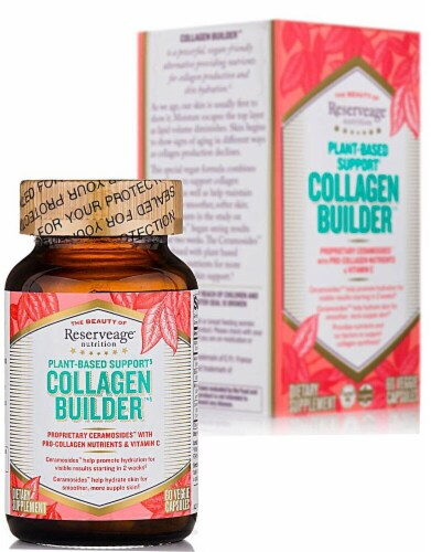 Reserveage  Nutrition Collagen Builder™ Plant-Based Support Perspective: front