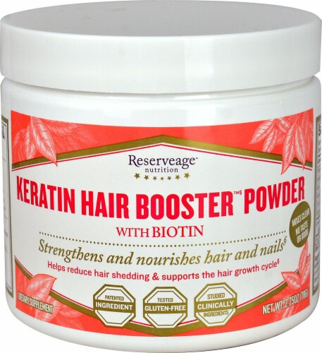 Reserveage  Nutrition Keratin Hair Booster™ Power with Biotin Perspective: front