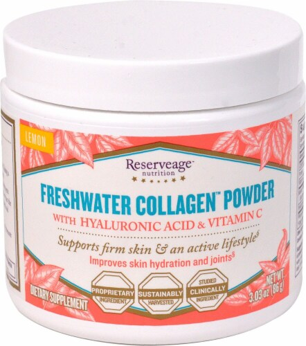 Reserveage  Nutrition Freshwater Collagen™ Powder Perspective: front
