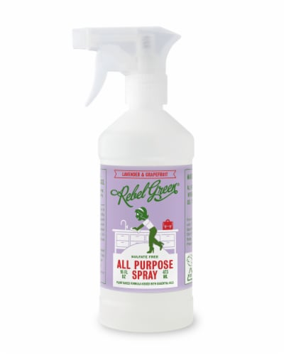 Rebel Green Lavender & Grapefruit All Purpose Spray Perspective: front