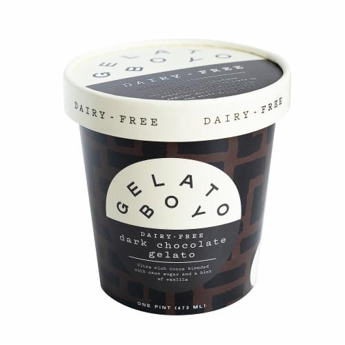 Gelato Boy Dark Chocolate Dairy-Free Gelato Perspective: front