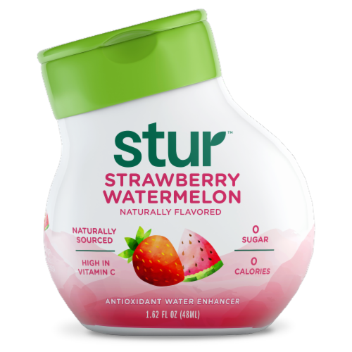 Stur Simply Strawberry Watermelon Liquid Water Enhancer Perspective: front
