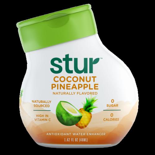 Stur Coconut Pineapple Liquid Water Enhancer Perspective: front