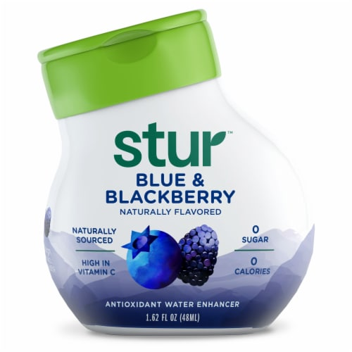 Stur Boldy Blue & Blackberry Liquid Water Enhancer Perspective: front