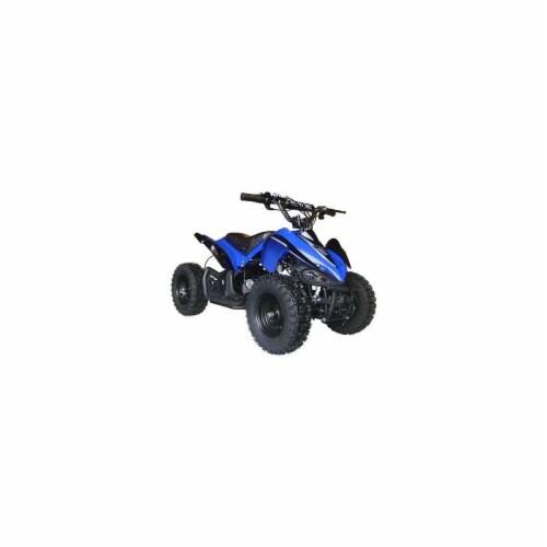Big Toys USA MT-ATV2_Blue Mini Quad V2 Blue Perspective: front