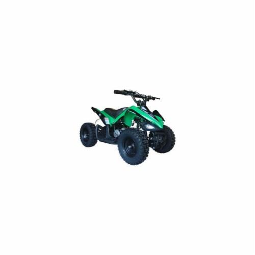 Big Toys USA MT-ATV2_Green Mini Quad V2 Green Perspective: front