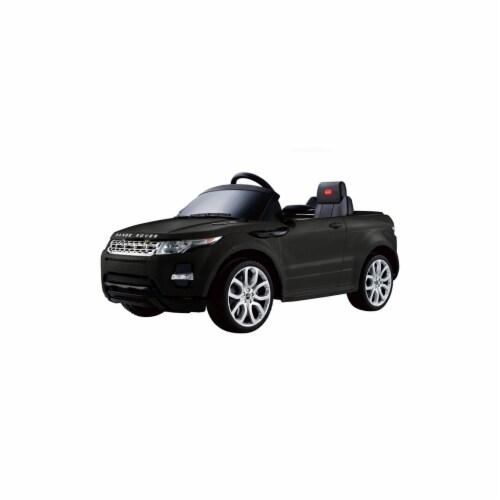 Big Toys USA RA-81400-Black Rastar Land Rover Evoque 12v - Remote Controlled Perspective: front