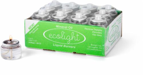 Ecolight Liquid Burners Perspective: front