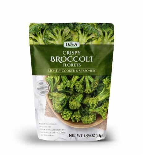 DJ&A Crispy Broccoli Florets Perspective: front