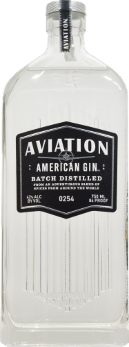 Aviation American Gin Perspective: front
