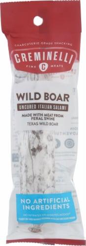 Creminelli Wild Boar Italian Salami Perspective: front