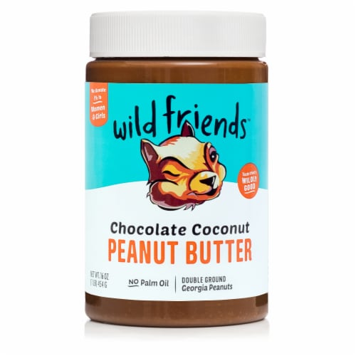Wild Friends Chocolate Coconut Peanut Butter Perspective: front