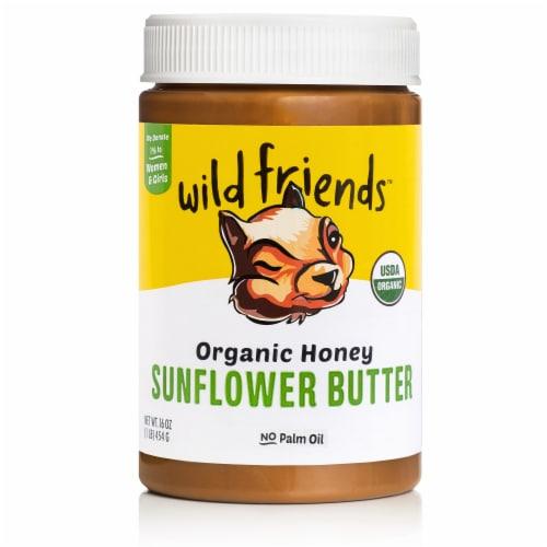 Wild Friends Organic Honey Sunflower Butter Perspective: front