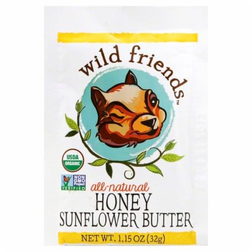 Wild Friends Organic Sunflower Honey Butter Perspective: front