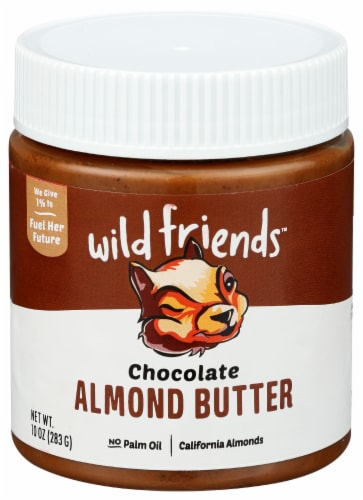 Wild Friends Organic Chocolate Almond Butter Perspective: front