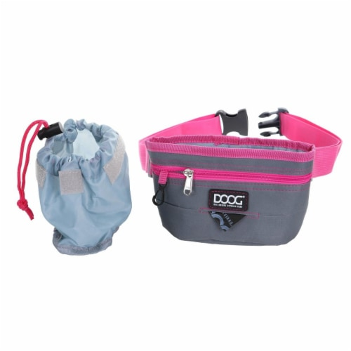 Dog Owners Outdoor Gear 890380 Dog Treat, Grey - Large Perspective: front