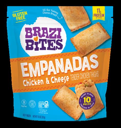 Brazi Bites Chicken & Cheese Empanadas Perspective: front