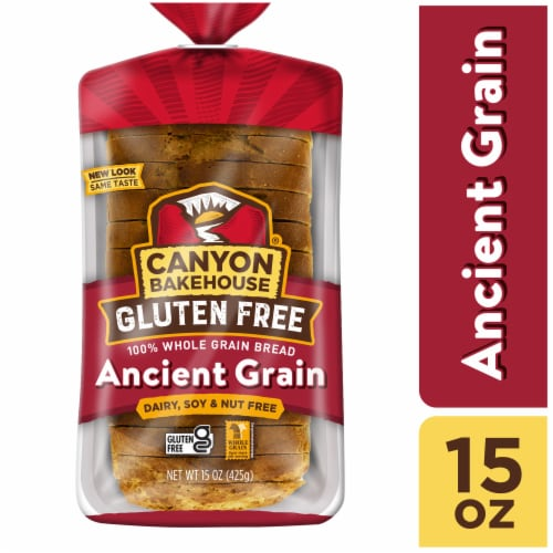 Canyon Bakehouse Gluten Free Ancient Grain Whole Wheat Bread Perspective: front