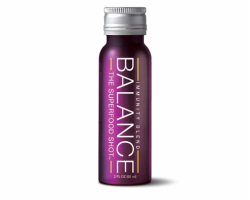 Balance The SuperFood Shot Immunity Blend Perspective: front