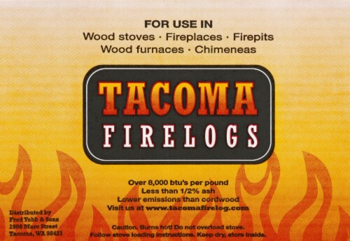 Tacoma Firelogs Perspective: front